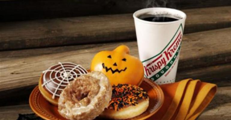 Krispy Kreme introduces Halloween doughnuts