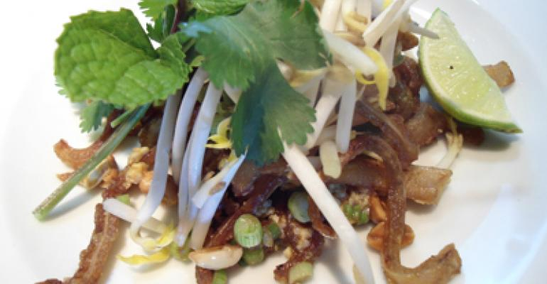 Pad Thai Pig Ears