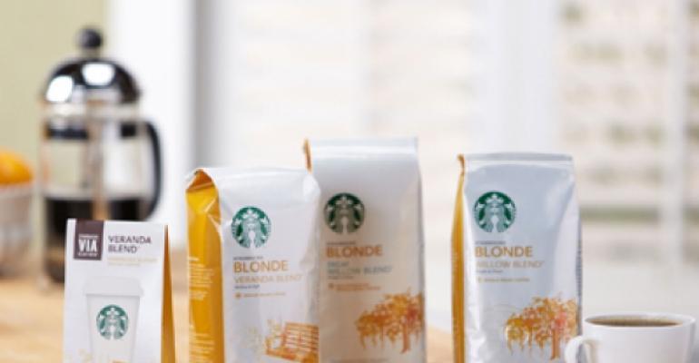 Starbucks Blonde Roast makes national debut