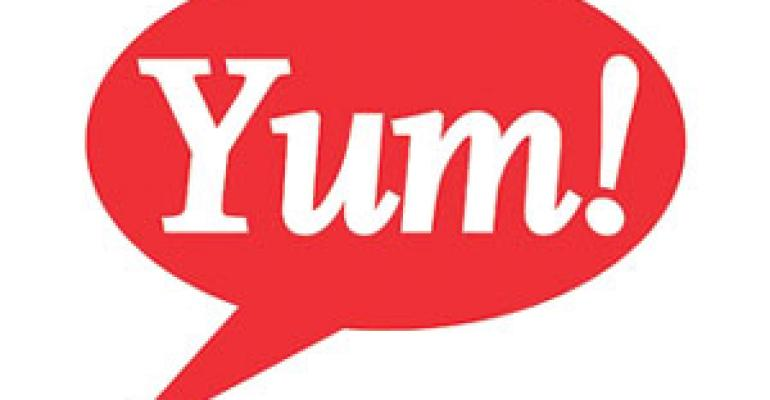 Yum outlines plans for sales growth, expansion abroad