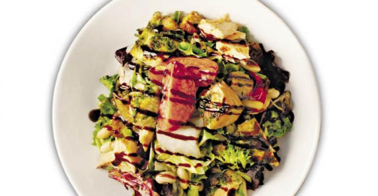 Salad's new leaf