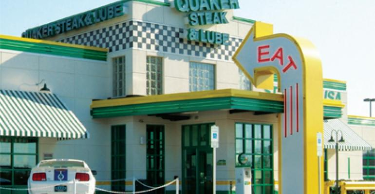 MenuMasters 2012: Quaker Steak & Lube