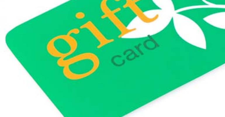 Spring is prime for gift card sales