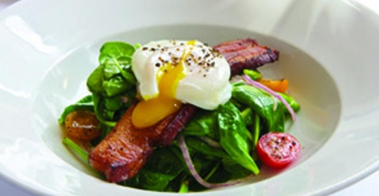 Smith  Wollensky spinach salad