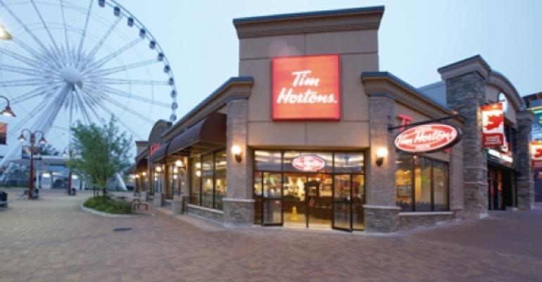 Tim Hortons: Expect steady growth in United States and Canada
