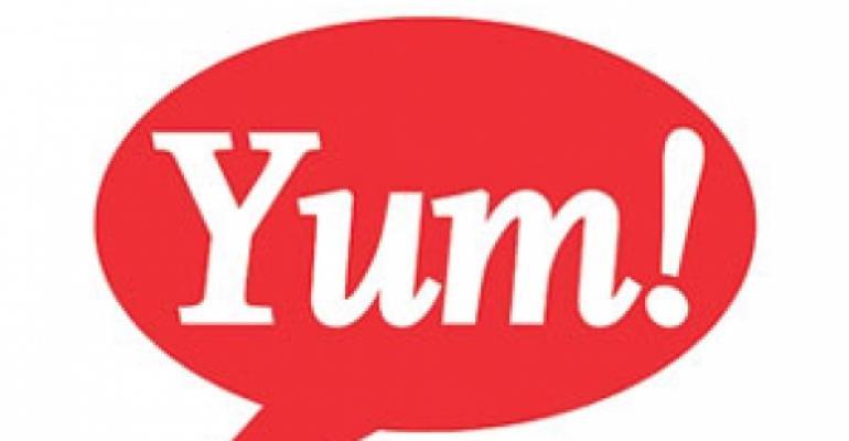 Yum promotes Rick Carucci to president