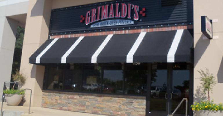 Grimaldi's Pizzeria plots growth