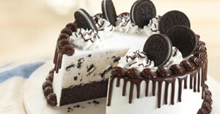 BasinkRobbins oreo cake