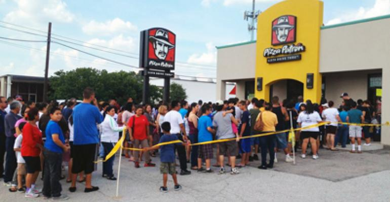 Pizza Patrón's 'Pizza Por Favor' promotion helps break sales records