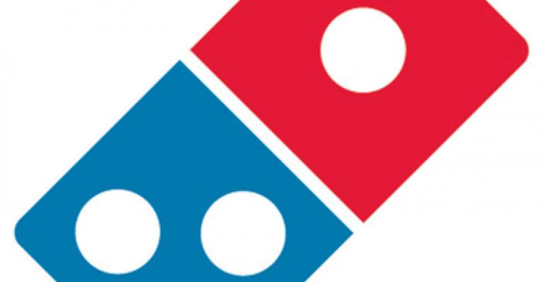 Domino's Pizza unveils new logo and restaurant design