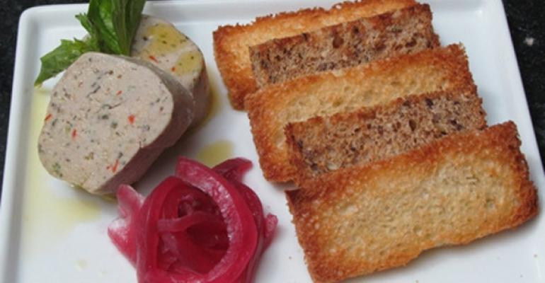 Smoked bluefish pate