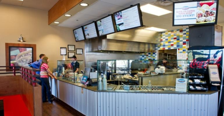 Americas Taco Shop interior