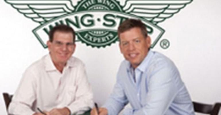 Troy Aikman Wingstop