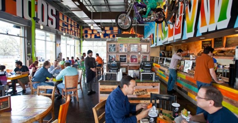 Freebirds interior