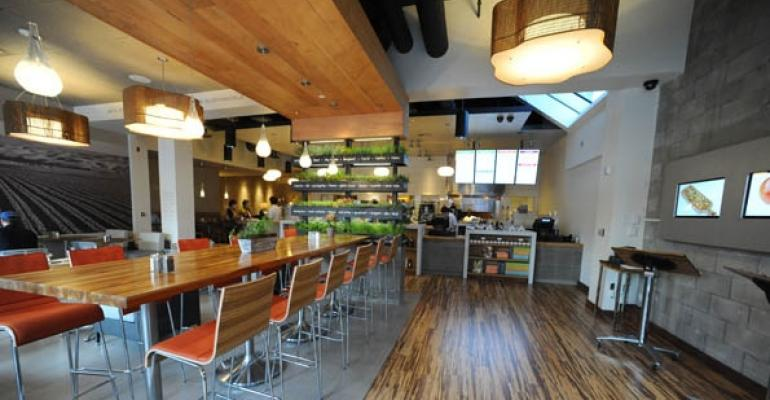 LYFE Kitchen interior