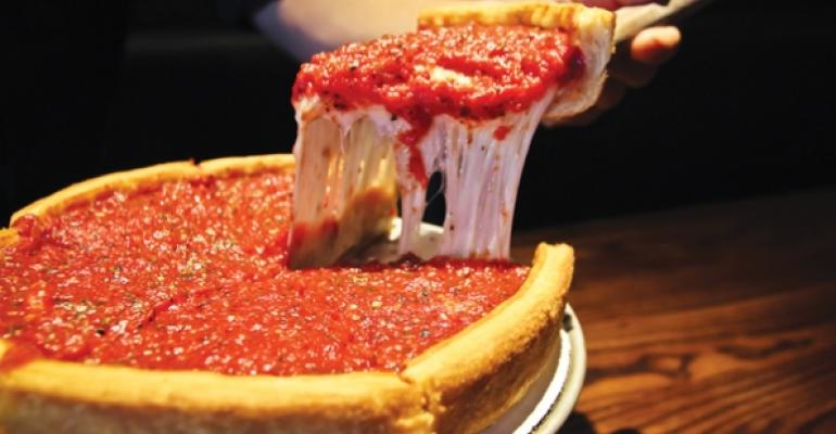 Patxis Pizza Authentic Chicago Stuffed pizza