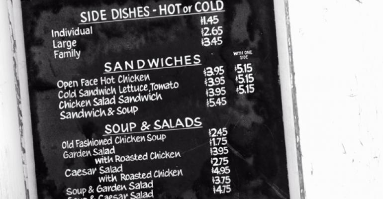 Survey: Restaurants reluctant to raise menu prices