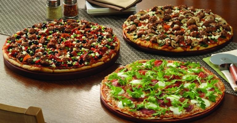 Papa Murphys Primo pizza line