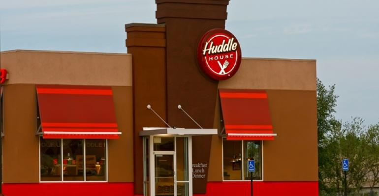 Huddle House exterior