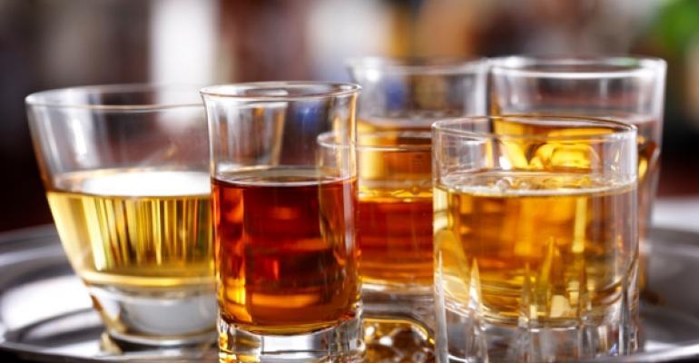 Liquor Stock image