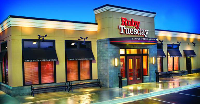 Ruby Tuesday to focus on casual after 'disappointing' 3Q