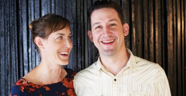 Jessica Maher and Todd Duplechan