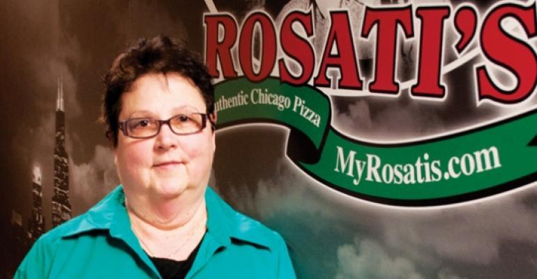 Having Words With: Marla Topliff of Rosati's Pizza