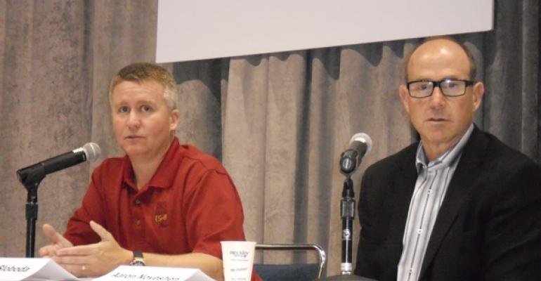 Joe Sloboda and Aaron Noveshen