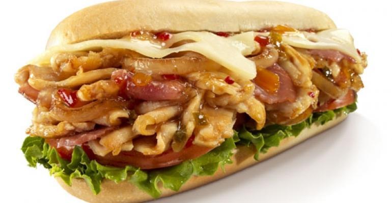Charleys Spicy Hawaiian Chicken Sandwich