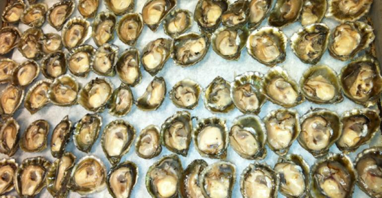 Some of the 1200 dozen oysters consumed each day from the 14 eateries owned by  Clydes Restuarant Group