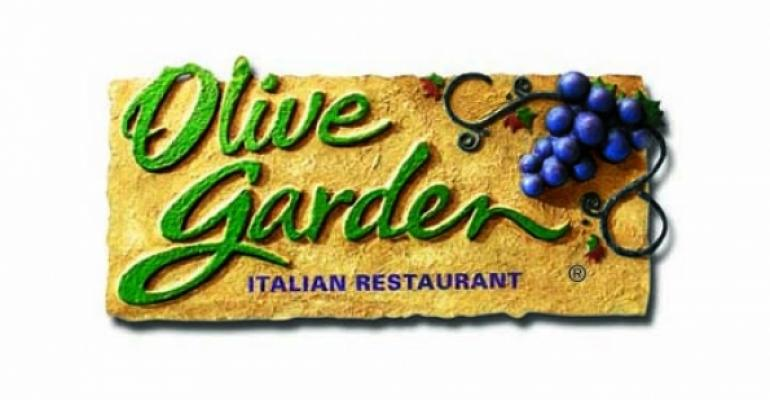 Olive Garden tests small plates, family-style dinner