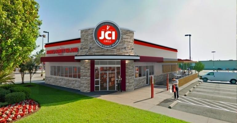 A rendering of the new JCI Grill concept
