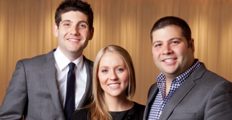 Jerrod Molly and RJ Melman of Lettuce  Entertain You Enterprises