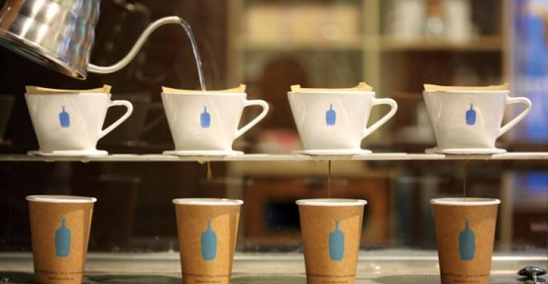 Restaurants warm to pour-over coffee