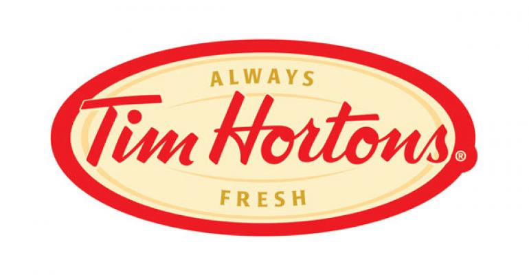 Tim Hortons 2Q same-store sales swing positive