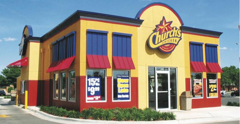 Church's Chicken names executive VP of U.S. operations