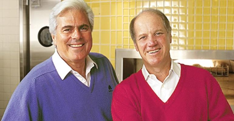 Former CPK cofounders Larry Flax left and Rick Rosenfield