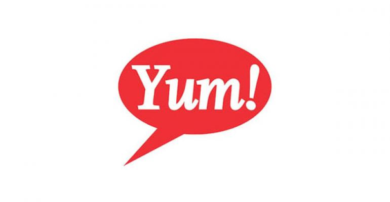 Yum reorganizes global divisions by brand