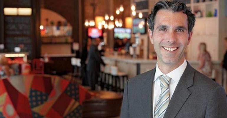 Daniel del Olmo president of DineEquitys newly created international division