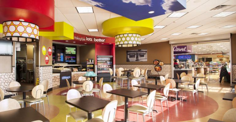 Schlotzskyrsquos restaurants within grocerygas stations will feature its ldquoLotz Betterrdquo format