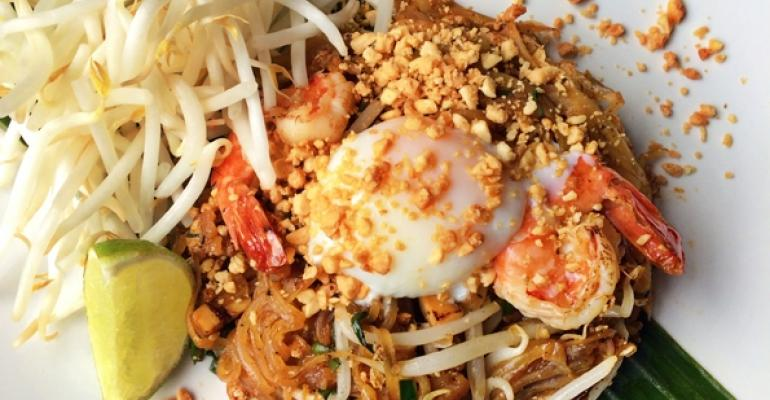 Green Papaya Pad Thai