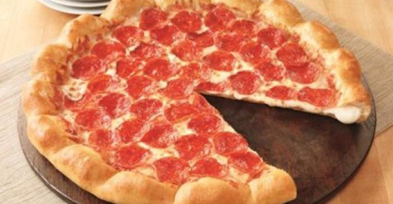 Pizza Hut39s 3Cheese Stuffed Crust pizza was accompanied by a television ad campaign