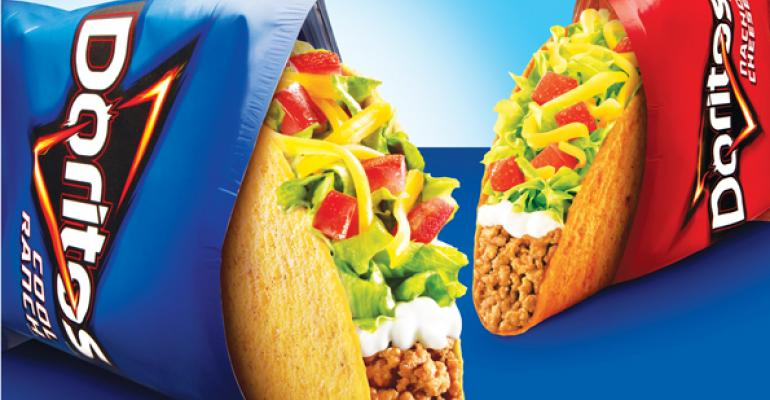 The wild success of Taco Bell39s Doritos Locos Tacos proved the power of cobranding