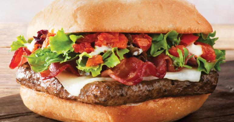 Wendy's introduces Ciabatta Bacon Cheeseburger