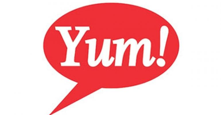 Yum China same-store sales rise 2% in December
