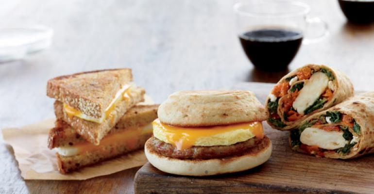 Starbucks has added three new breakfast sandwiches to its lineup