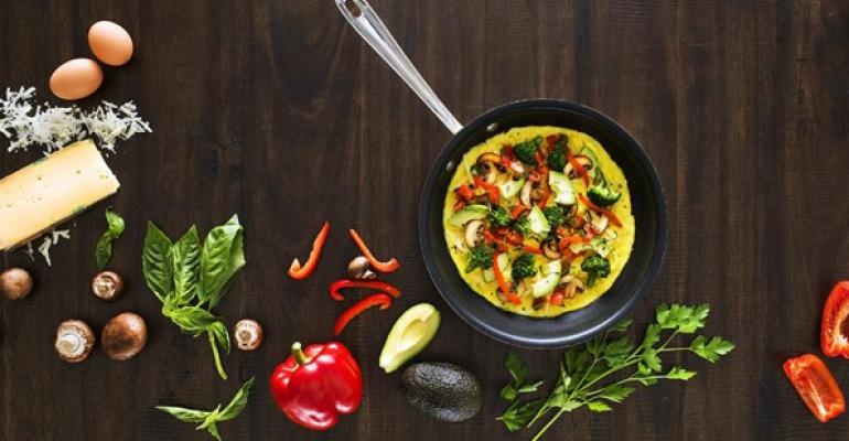 Bravos Garden Omelette