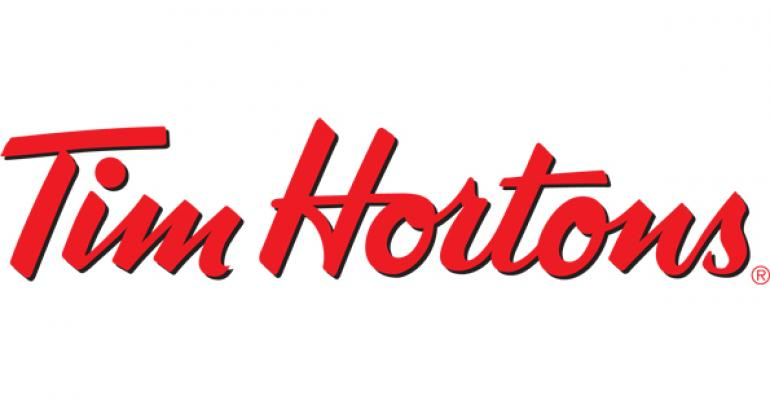 Tim Hortons sales swing positive in 1Q