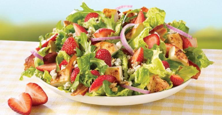 Wendy39s Strawberry Fields Chicken Salad