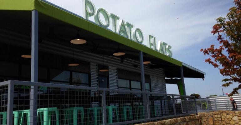Phil Romano debuts new fast-casual potato restaurant